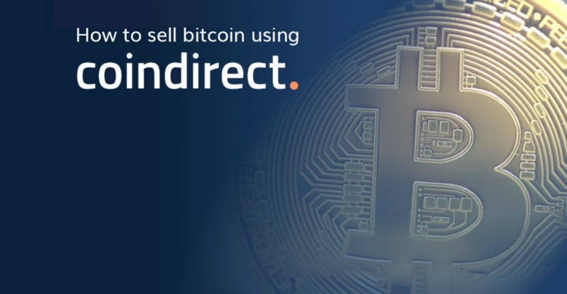 how to sell bitcoin on coindirect crypto marketplace