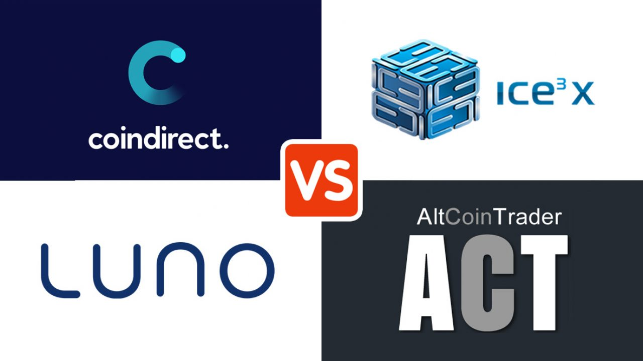 Altcoin Trader coindirect vs. luno, ice3x and altcoin trader | coindirect