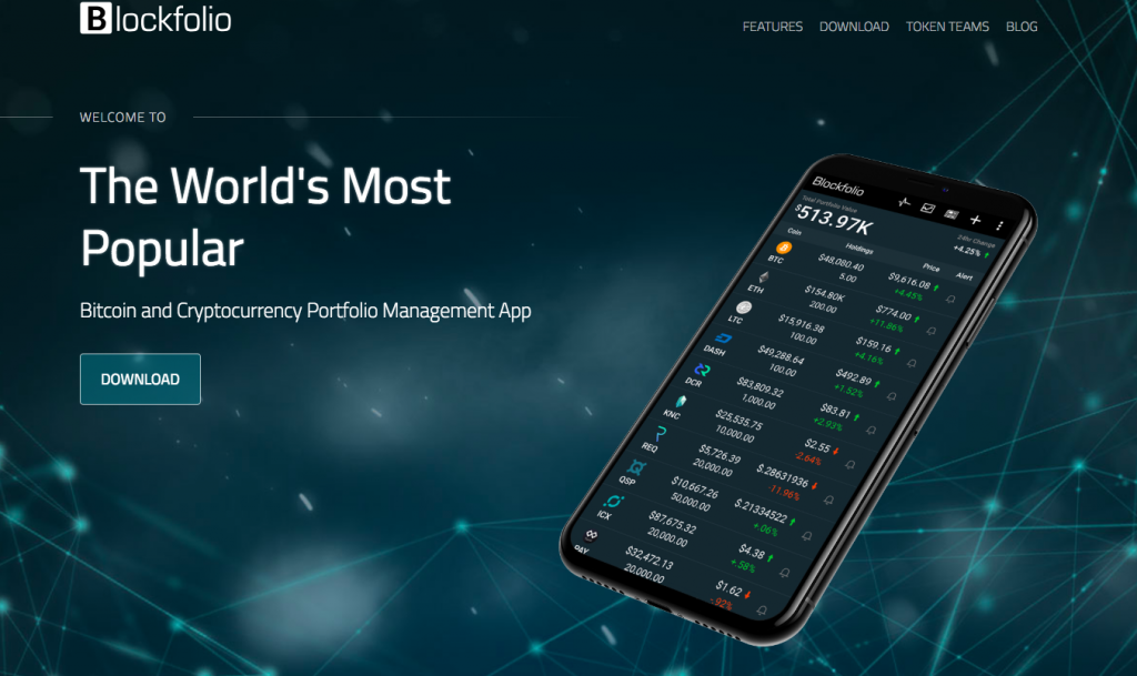 track your crypto holding and manage your portfolio